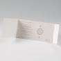Elegante Hochzeitseinladungen - Gestaltungsbeispiel Einlegekarte