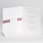 """Elegante Hochzeitseinladungen """"Altrosa"""" - Gestaltungsbeispiel Karteninnenseiten"""