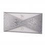 Elegante Hochzeitseinladungen mit edler Silberfolienprägung