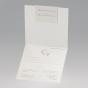 Elegante Hochzeitskarten - Gestaltungsbeispiel Karteninnenansicht
