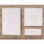 Elegante Einladungskarte - Mögliches Kartenzubehör