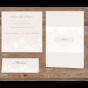 Elegante Hochzeitseinladungen - Mögliches Kartenzubehör