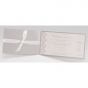 """Elegante Hochzeitseinladungen """"Strassherz"""" - Gestaltungsbeispiel Karteninnenseiten"""