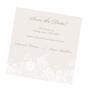 Elegante Save the Date Karten auf schimmerndem Metallickarton