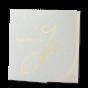 Exklusive Hochzeitseinladungen mit edler Goldfolienprägung und raffinierter Stanzung