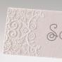 Exklusive Tischkarten für die Hochzeit - Detailansicht