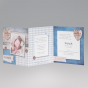 Fröhliche Geburtskarten mit Foto - Ansicht Karteninnenseiten.