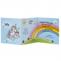 """Geburtskarten """"Einhorn"""" - Gestaltungsbeispiel Karteninnenseiten"""