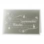 Geschäftliche Weihnachtskarten mit edler Folienprägung zum Schnäppchenpreis