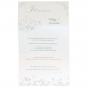 Hochzeitsbrief - Gestaltungsbeispiel aufgeklappte Karte