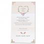 """Hochzeitsbrief """"Rosen"""" - Gestaltungsbeispiel Karteninnenseiten"""