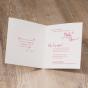 """Hochzeitseinladung """"Feder"""" - Gestaltungsbeispiel Karteninnenseiten"""