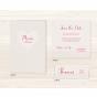 """Hochzeitseinladung """"Feder"""" - Mögliches Kartenzubehör"""