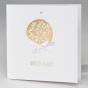 """Hochzeitseinladung """"Goldene Eleganz"""" - im modernen Design"""