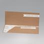 """Hochzeitseinladung """"Flugticket"""" - Karteninnenansicht bei aufgeklappter Karte"""