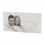 """Hochzeitseinladungen """"Foto"""" mit festlichem transparenten Umleger, auf dem Ihr Lieblingsfoto eingedruckt werden kann"""