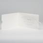 """Hochzeitseinladungen """"Foto"""" - Gestaltungsbeispiel Einsteckkarte innen"""
