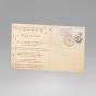 """Hochzeitseinladungen """"Postkarte"""" - Gestaltungsbeispiel Rückseite (Designelemente sind bereits vorgedruckt)"""