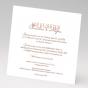 """Hochzeitseinladungen """"Romantisch"""" - Gestaltungsbeispiel Einschiebekarte"""