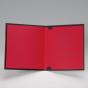"""Hochzeitseinladungen """"Schwarz & Rot"""" - Gestaltungsbeispiel Einlegeblatt Karteninnenseiten"""