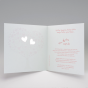 Hochzeitseinladungen - Gestaltungsbeispiel Karteninnenansicht