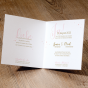 """Hochzeitseinladungen """"Altrosa"""" - Gestaltungsbeispiel Karteninnenseiten"""