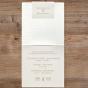 """Hochzeitseinladungen """"Feder"""" - Gestaltungsbeispiel Karteninnenseiten"""