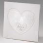 """Romantische Hochzeitseinladung """"Fingerabdruck""""im romantisch/modernen Design"""
