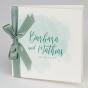 """Hochzeitseinladungen """"Grün & Weiß"""" im festlichen Design"""