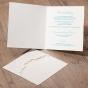 Hochzeitseinladung mit Spitze - Gestaltungsbeispiel Karteninnenseite