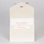 """Romantische Hochzeitseinladungen """"Spitzenoptik"""" - Karteninnenansicht"""