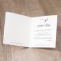 """Hochzeitseinladungen """"Vintage"""" - Gestaltungsbeispiel Karteninnenseiten"""
