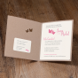 """Hochzeitskarte """"Schmetterlinge"""" - Gestaltungsbeispiel Karteninnenseiten"""