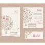 """Hochzeitskarte """"Schmetterlinge"""" - Mögliches Kartenzubehör"""