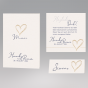 """Menükarten """"Hochzeit"""" - mehr aus diesem Kartenset"""
