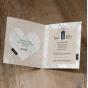 Hochzeitskarten - Gestaltungsbeispiel Karteninnenseiten