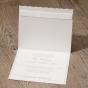 """Hochzeitskarten """"edle Spitze"""" - Karteninnenansicht"""