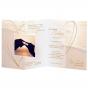 """Hochzeitseinladungen """"Strand"""" - Gestaltungsbeispiel Karteninnenseiten"""