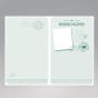 """Internationale Hochzeitskarten """"Passport"""" - Ansicht der bereits vorgefertigten, unveränderbaren Gestaltungselemente der Karteninnenseiten"""