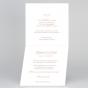 Klassische Hochzeitskarten - Gestaltungsbeispiel Karteninnenseiten