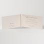 Klassische Hochzeitskarten - Gestaltungsbeispiel Karteninnenseite