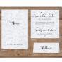 """Klassische Tischkarten """"Marmor"""" - Mögliches Kartenzubehör"""