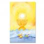"""Kommunionbildchen / Heiligenbildchen """"Jesus – Sonne, Brot und Leben in herrlich erleuchtendem Design"""
