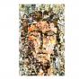 """Heiligenbildchen / Kommunionbildchen """"Gesicht Christi"""" im modernen Design"""