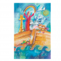 """Kommunionbildchen / Heiligenbildchen """"Freude auf dem Glaubensbott"""""""