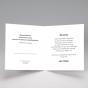 """Lustige Hochzeitseinladungen """"Eulenpaar"""" - Gestaltungsbeispiel Karteninnenseite"""