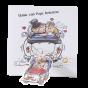 Lustige Hochzeitskarten mit verspielter Applikation