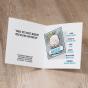 """Lustige Babykarten """"Gauner"""" - Gestaltungsbeispiel Karteninnenseiten"""
