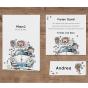 Lustige Hochzeitseinladungen - Mögliches Kartenzubehör