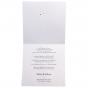 Lustige rote Hochzeitseinladungen - Gestaltungsbeispiel Karteninnenseiten